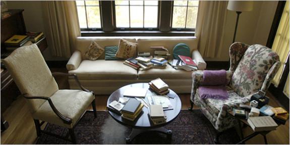 Eudora Welty's sitting room