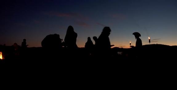 Still from Mar's documentary American Mystic