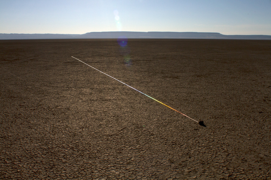 marking time in light, 2014, Alvord Desert, Eastern Oregon
