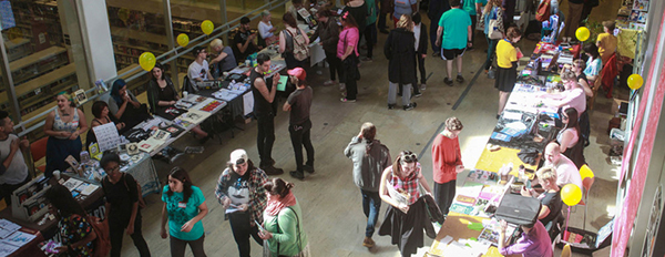 The New Orleans Comic and Zine Fest, a 2015 Platforms Fund Grantee and a 2016 fiscally sponsored project. photo provided by NOCAZ